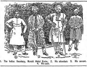Abdul Karim and Staff