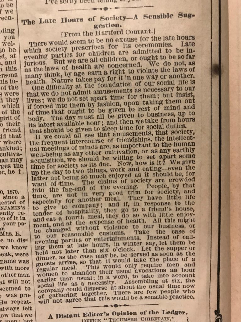 NY Ledger March 5 1870