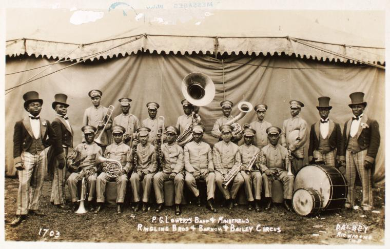 PG Lowery's Band (NYPL)